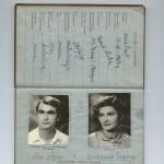 Passeport Aco Sopov et Dusanka