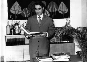 Aco Sopov dans son bureau, 1968