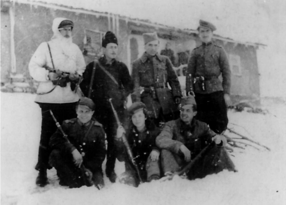 Борци на Третата македонска ударна бригада, 1943