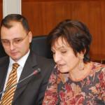 J. Sopova et V. Martinovski (© Aco Sopov -Poesis)