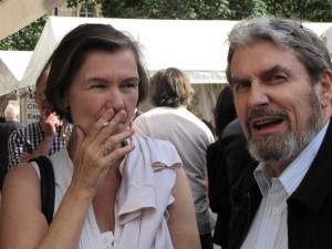 Ariane Bailey, iconographe, et Gerald Gaillard, anthropologue.
