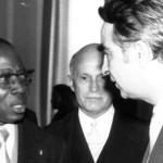Шопов и Сенгор, Дакар, 1974