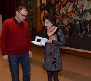 Vladimir Martinovski et Jasmina Šopova