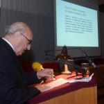 Georgi Stardelov. Novembre 2013, Skopje, Académie macédonienne des sciences et des arts : célébration du 90e anniversaire de la naissance d'Aco Šopov.