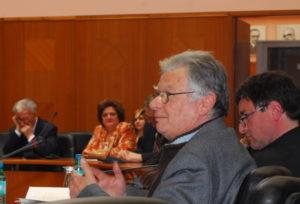 """Bernard Mouralis au Colloque """"Senghor en toute liberté"""", Université Saints Cyrille et Méthode, Skopje, 20 mars 2006"""