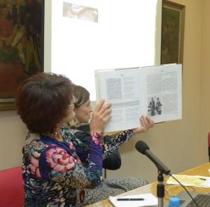 Lancement de la Maison lyrique d'Aco Šopov. 8 octobre 2014. Faculté de philologie de l'Université « Cyrille et Méthodes » de Skopje.