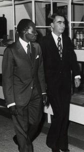 Senghor & Sopov, Dakar, 1974