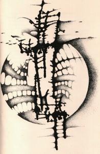 Улустрација од Петар Глигоровски во збирката Дрво на ридот