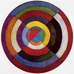 Disque simultané, Robert Delaunay