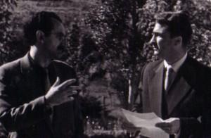 Владо Малески и Ацо Шопов, веројатно во 1958 год.